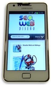 Diseño Web para Móviles en Málaga - Diseño optimizado y sensible
