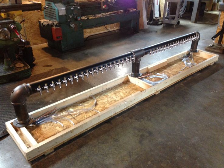 Big 40 Tap Draft Beer Tower Headed To A Marine Base Www