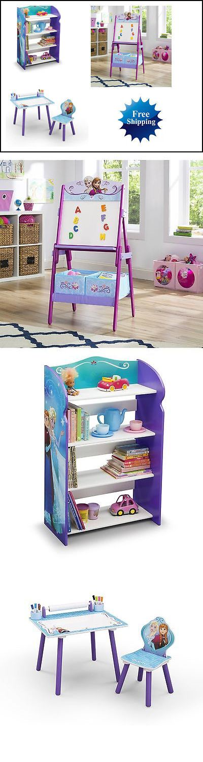 Other Kids and Teens Furniture 66744: Disney Frozen Art Desk, Bookshelf, Easel Playroom Set Free Shipping -> BUY IT NOW ONLY: $149.99 on eBay!
