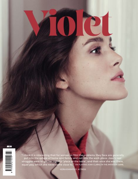 Keira Knightley for Violet, issue 3, 2015