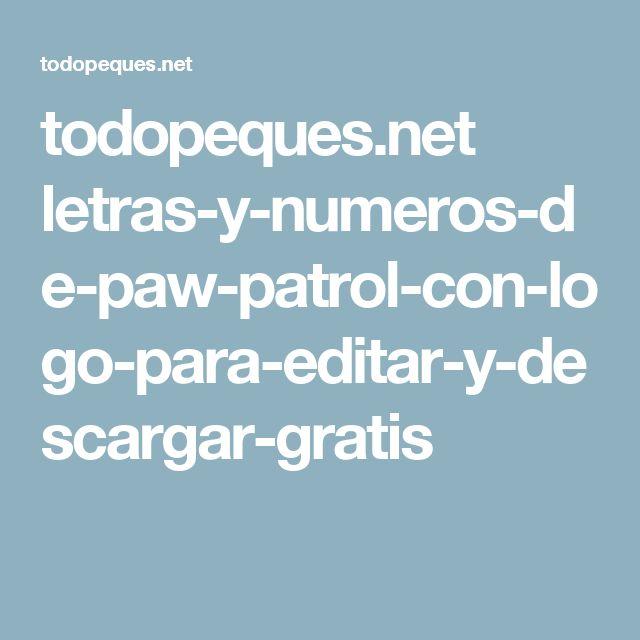 todopeques.net letras-y-numeros-de-paw-patrol-con-logo-para-editar-y-descargar-gratis