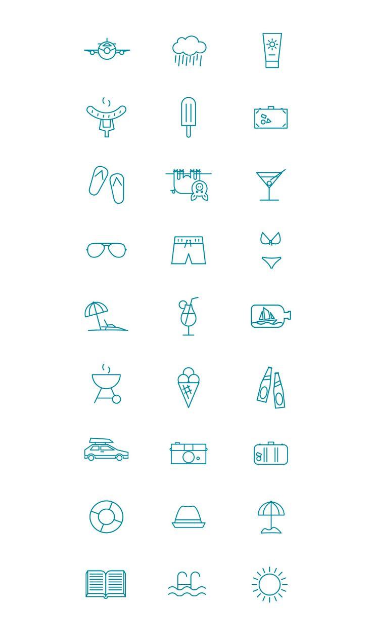 MadeSomething - Summer pictogram