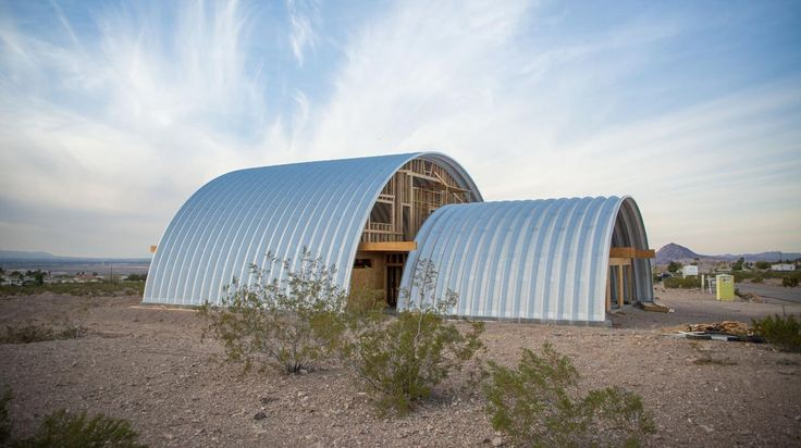 A Steel Eco-Friendly Home in the Nevada Desert - SteelMaster