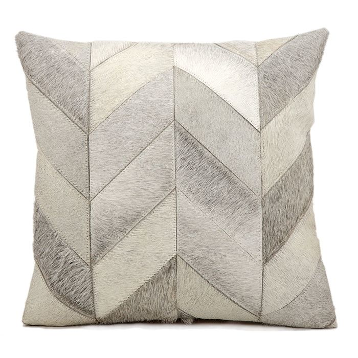 Heritage Leather Throw Pillow by Kathy Ireland | Joss & Main