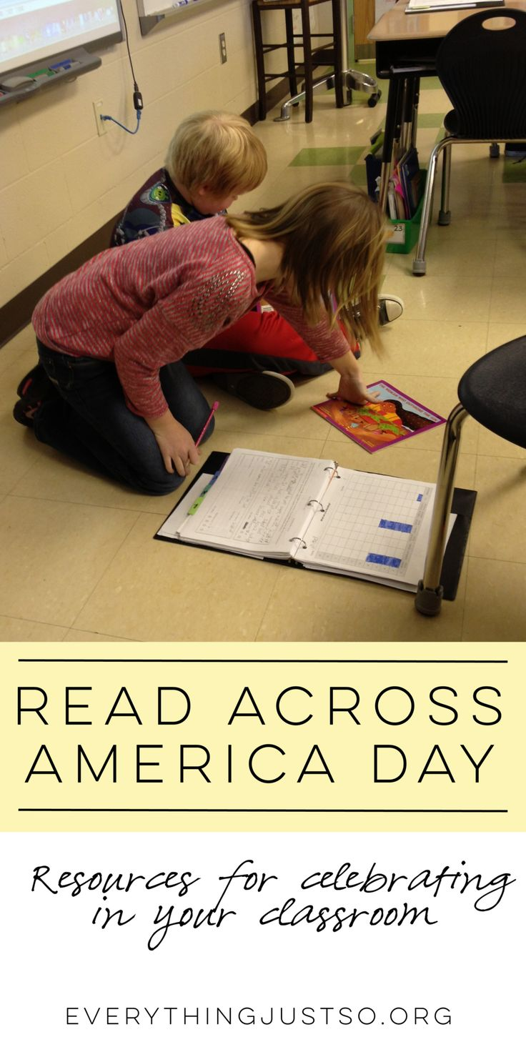 Read Across America Day | everythingjustso.org | Ideas and resources for celebrating Read Across America Day in your classroom.