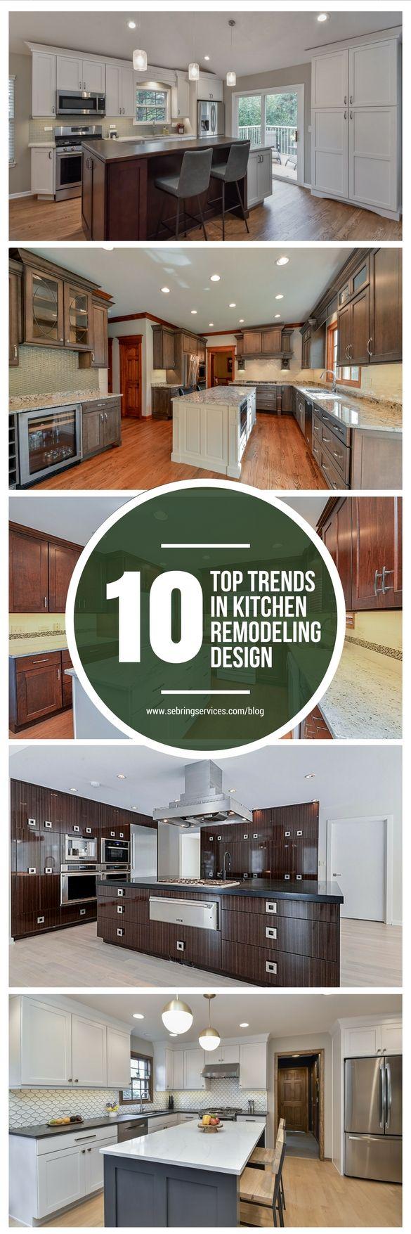 719 best kitchen design trends images on pinterest remodeling 10 top trends in kitchen design for 2017