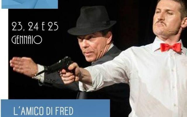 L'amico di Fred, ovvero la storia fantastica di Fred Buscaglione in scena al Teatro Delfino di Milano #fred #buscaglione #teatrodelfino