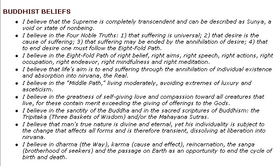 """the teachings and core beliefs of buddhism These bellow are the core idea/concepts of buddhism as buddha many times repeated buddhism is not a system of belief its path for transformation towards mode of insight into nature thru experience(not necessarily merely sensoric experience) buddha's path is to experience reality """"buddha 's teaching is to move from the gross, apparent truth to the subtlest, ultimate truth, from olarika to."""