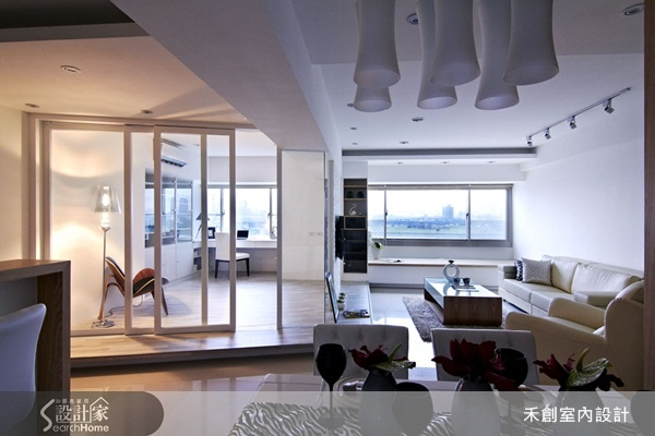 一面隔間牆 !解決惱人樑柱問題 讓空間煥然一新 | 設計家 Searchome - 華文最大室內設計社群平台
