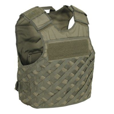 """F.A.S.T. Vest w/ new Universal Lattice Molle (Coyote L/XXL) by VooDoo Tactical. $89.95. Designed for the law enforcement officer who needs versatile gear at the ready. Each officer can custom tailor his/her vest to suit their specific ops. The vest can accommodate virtually any personal body armor by inserting the panels between the vest layers both front and rear. Plate pocket size: front 6\"""" x 8\"""" to hold trauma plate, rear holds 7\"""" x 11\"""" or 10\"""" x 12\"""" st..."""