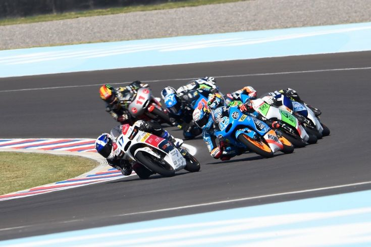McPhee, Argentinian Moto3 Race 2014
