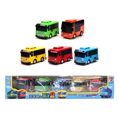 #TheLittleBus 5pcs Set #Korea TV #Animation Car #Toy #Tayo #Rogi #Gani #Rani #Citu