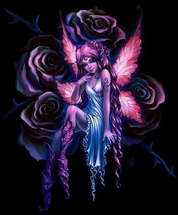 Pink rose (bewerkt) ~ Anna Ignatieva