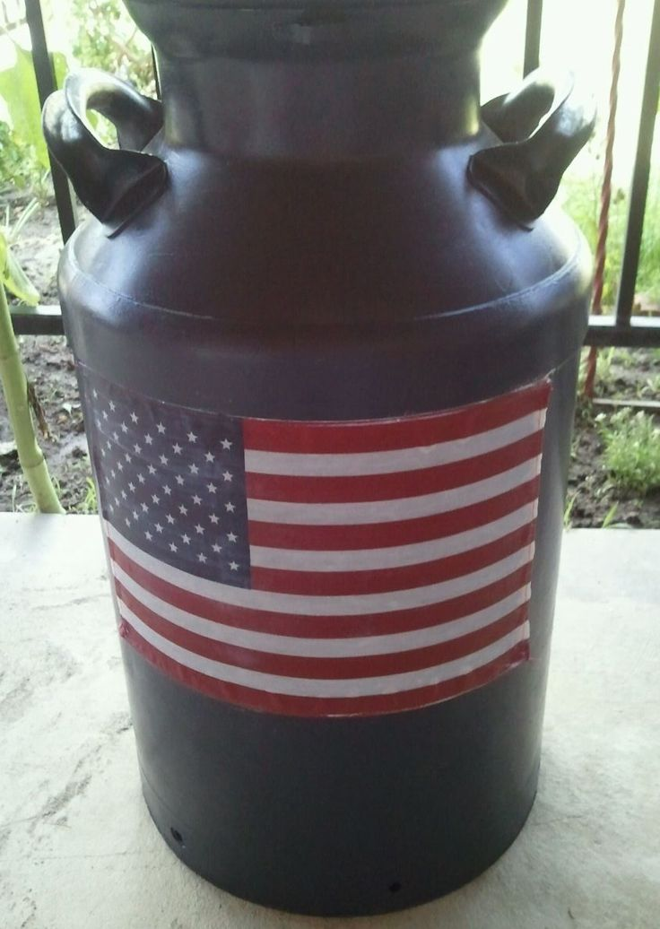 8 best milk cans images on pinterest milk cans for Milk can table ideas