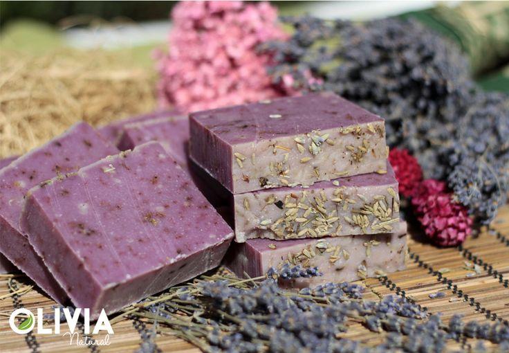 Levendula kecsketejes szappan / Lavender goat milk soap