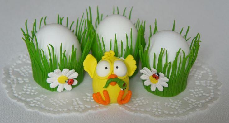 Оригинальные подарки - Украшение для пасхальных яиц - Автор: Наталья Лопатина