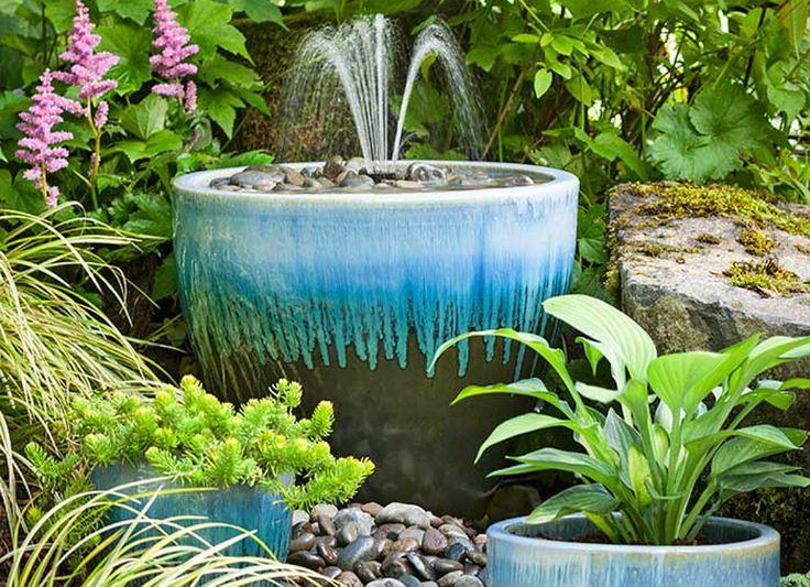The soothing sound of flowing water has long been a feature of celebrated gardens around the world. Not only does a fountain add welcome beauty to an outdoor space, but it also provides a pleasing white noise, helping to screen out the sounds and cares of the larger world. To give a sense of cloistered calm to even the most modest backyard, you needn't shell out for expensive designs found in home and garden centers. Instead, here are 10 imaginative DIY fountains that will delight visitors…