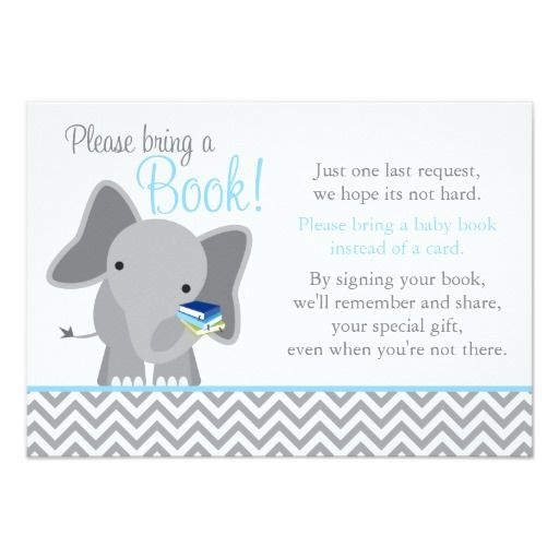 17 best images about elephant baby shower invitations on pinterest, Baby shower invitations