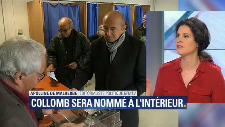 Nominations au gouvernement : Gérard Collomb sera ministre de l'Intérieur