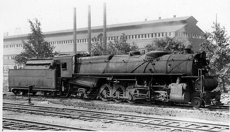 The Pennsylvania Railroad S N1s Was A Class Of Steam