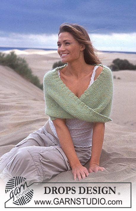 SO beautiful... I'm knitting a wrap for my daughter-in-law to be for her to wear after the wedding at Keystone Resort on Sept. 2... when it comes time to graft the two ends together I just might have to twist is up like this! CLEVER!!!