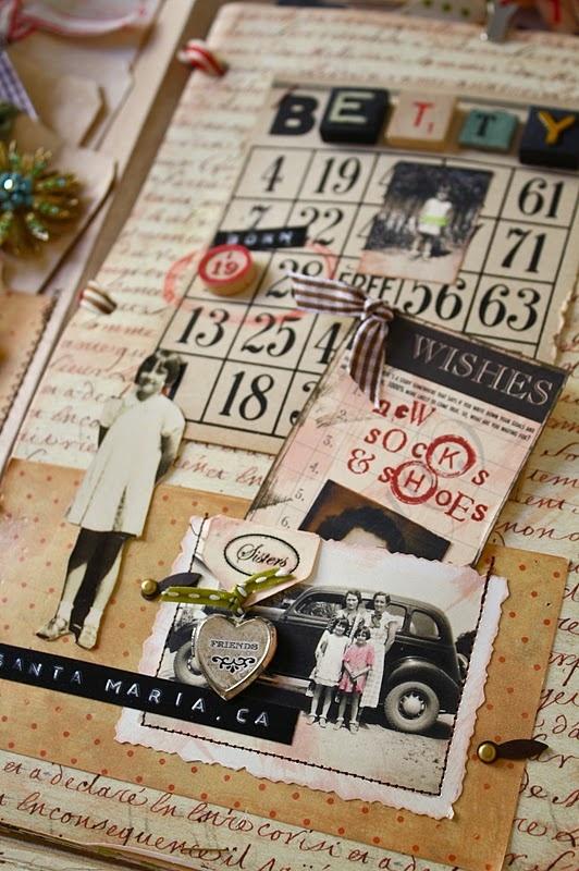 scrapBooKinG: Bingo Cards, Inspiration Scrapbook, Paper Dolls, Gifts Ideas, Art Journals, Journals Pages, Scrap Books, Scrapbook Layout, Smash Books