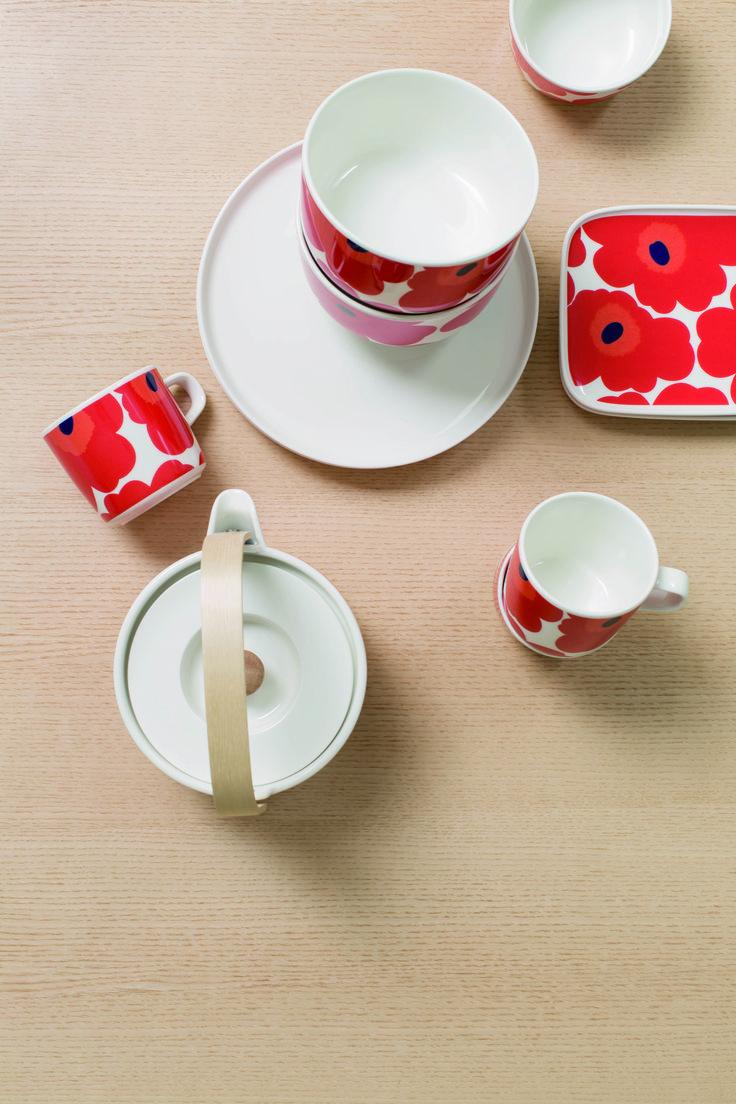 Kultowe maki - tylko prosto z Finlandii. #finuu #finuupl #finlandia #finland #finnishdesign #kitchen #interior #scandi #scandinavianstyle #mug #finnishkitchen #dekoracje #wystrojwnetrz #scandynawskidesign #marimekko