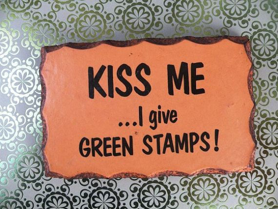 Vintage Post Card Advertisement Kiss Me S & by UncommonRecycables, $10.00