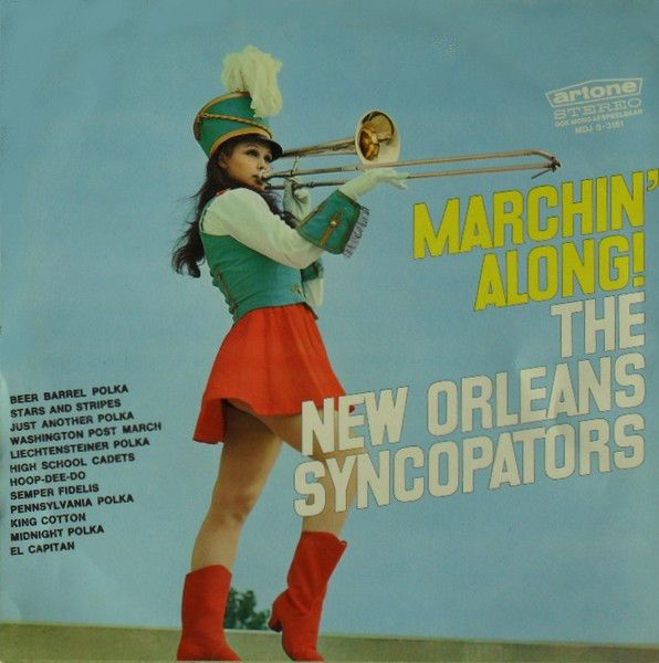 The New Orleans Syncopators - Marchin' Along! (Vinyl, LP) at Discogs