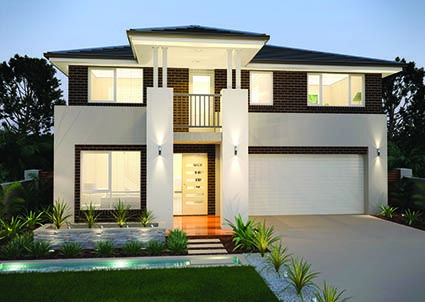 Glenelg 27 || Double storey home designed to fit shorter length blocks is complete with four bedrooms, four living zones including an upstairs leisure room and a double garage