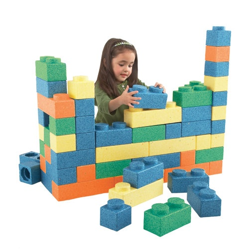 1000 images about foam blocks for kids on pinterest for Foam block house construction