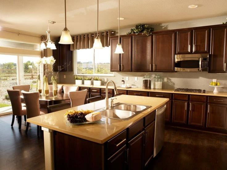 A Taylor Morrison kitchen in Denver, Colorado