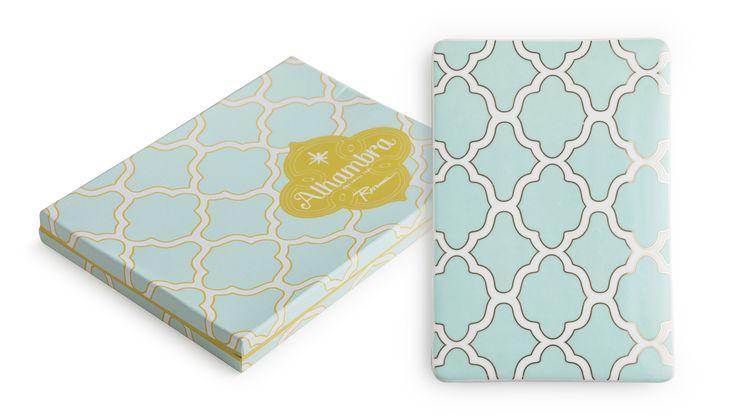 """Rosanna Alhambra Infinity Tray — Rosanna Alhambra Mini Infinity Tray in a Gift Box 6.25"""" x 9"""""""