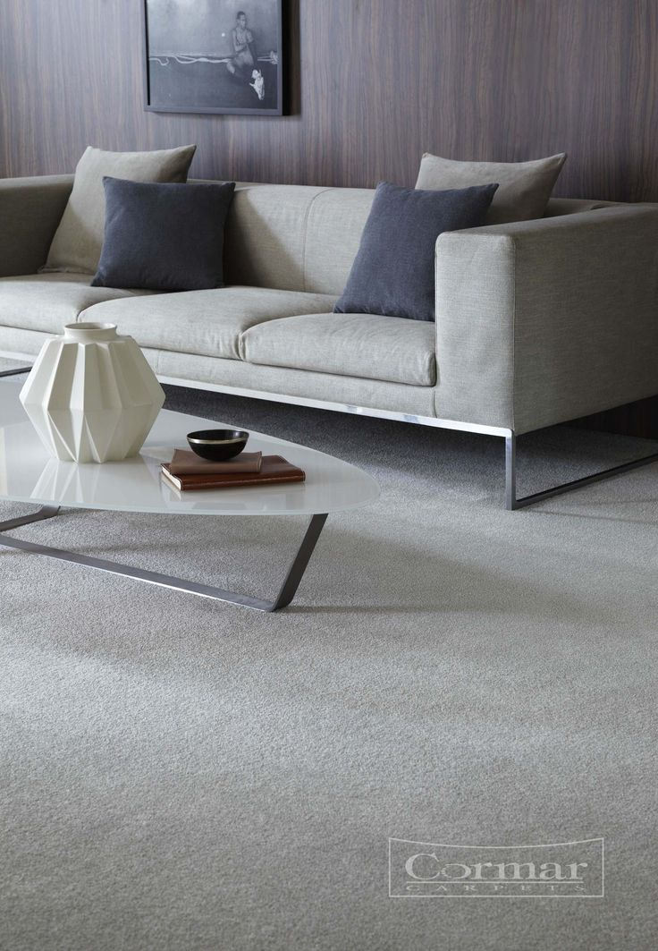 Cormar's Sensation New Feeling, Colour Arctic Grey. Sensation Original and New Feeling are available in 10 modern, neutral colours.  Approximate Retail Price £24 sq.m.