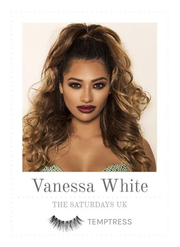Celebrity Press | House of Lashes in Temptress with Vanessa White from The Saturdays UK #vanessawhite #thesaturdays #music #temptresslashes