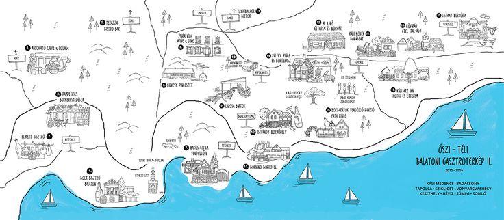 Gasztronómiai kalandok a Balaton északi partján. Keszthely - Monoszló szakasz