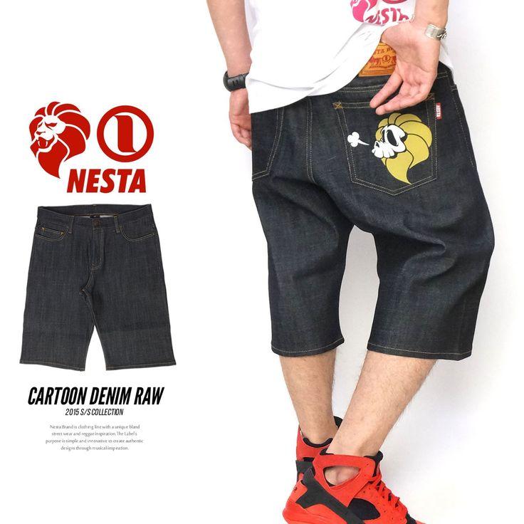 ネスタブランド NESTA BRAND ハーフパンツ メンズ ショート デニ :5v3218:DEEP B系・ストリートファッション - 通販 - Yahoo!ショッピング