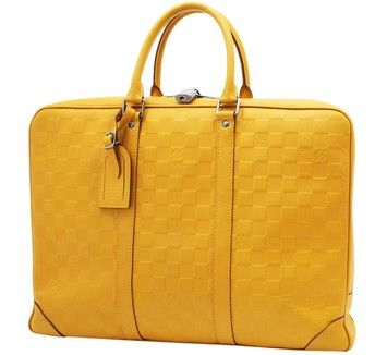 Louis Vuitton Porte Documents Voyage Damier Infini Business Laptop Bag. Carry your laptop in style! The Louis Vuitton Porte Documents Voyage Damier Infini Business Laptop Bag is a top 10 member favorite on Tradesy. Save on yours before they're sold out!