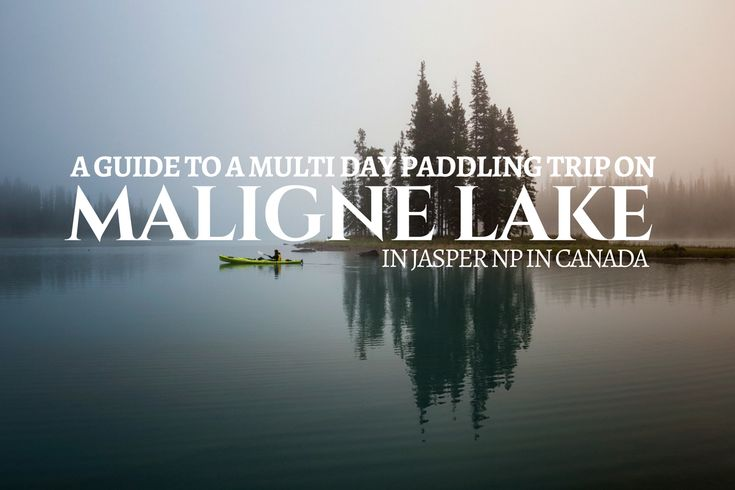 A detailed guide of a multi day kayaking/canoeing trip to Spirit Island on Maligne Lake in Jasper National Park. Explaining the best way of getting to Fishermans Bay, Spirit Island and Coronet Creek Campgrounds.