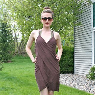 DIY 20 minute Beach Cover-up (great tutorial!)