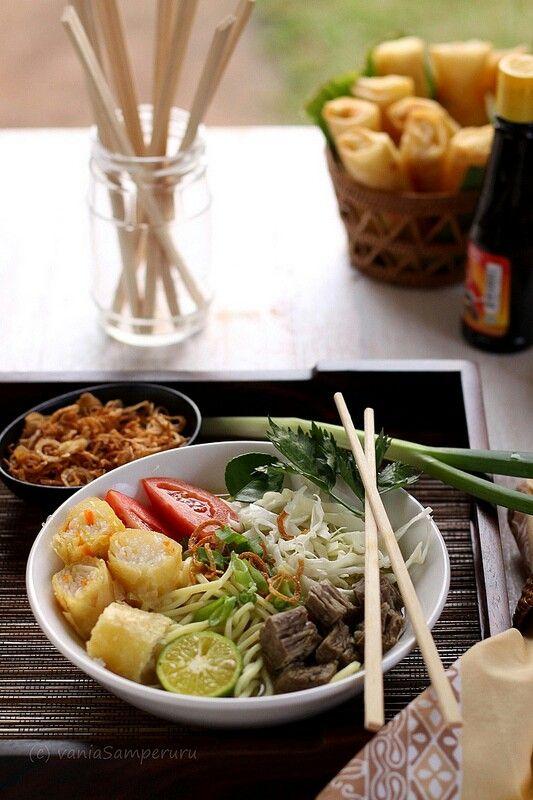 Soto Bogor - An Indonesian food from Bogor, West Java