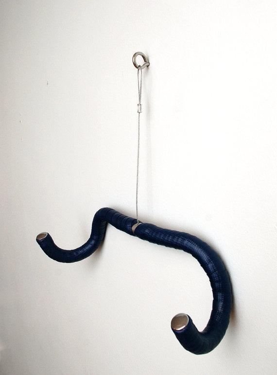 Could I make this w/ old bike handlebars? Use it as a hanging bike rack?