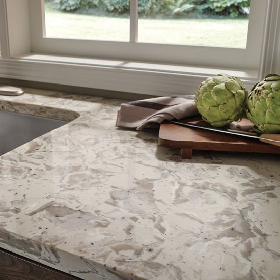 Current Obsessions Greige The Newest Quartz Countertop