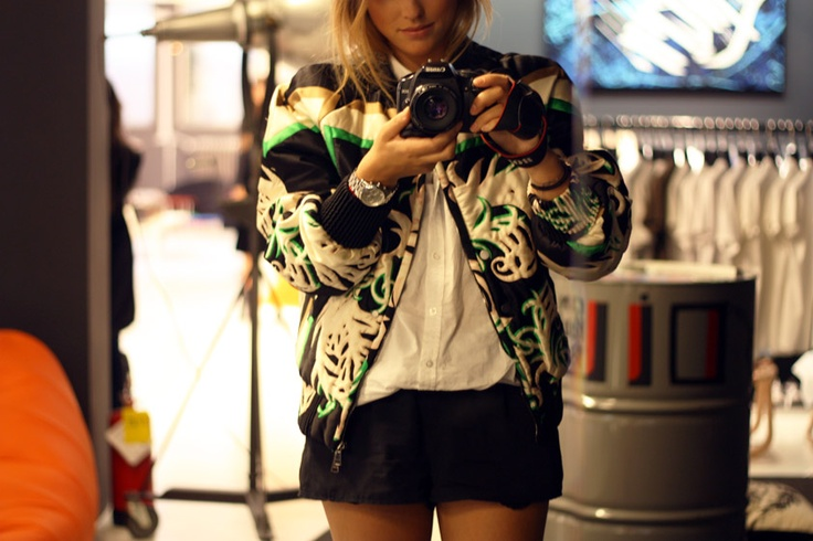 THIS jacket.Blackandwhite, Jackets