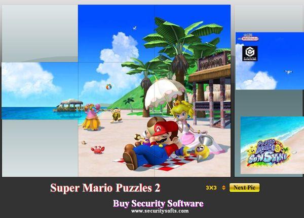 Rompecabezas fácil de Super Mario Bros