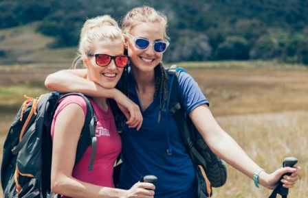Australian beauty queens trade heels for hiking boots to tackle Kokoda: Laura Dundovic and Erin Holland prove PNG's famous trek is one for the girls. | Read more: http://www.papuanewguinea.travel/papua-new-guinea-tourism-promotions-authority/x,76,1,1,461,,/australian-beauty-queens-trade-heels-for-hiking-bo.html   Visit: www.DoKokoda.com   #papuanewguinea #DoKokoda