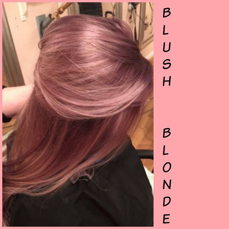 Blush Blonde --- warmer, richer, not brown!
