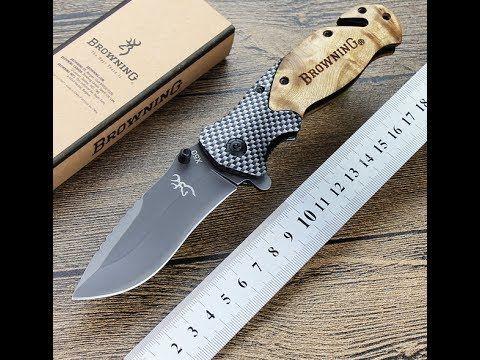 Распаковка складной нож BROWNING X50 красивый, удобный и острый