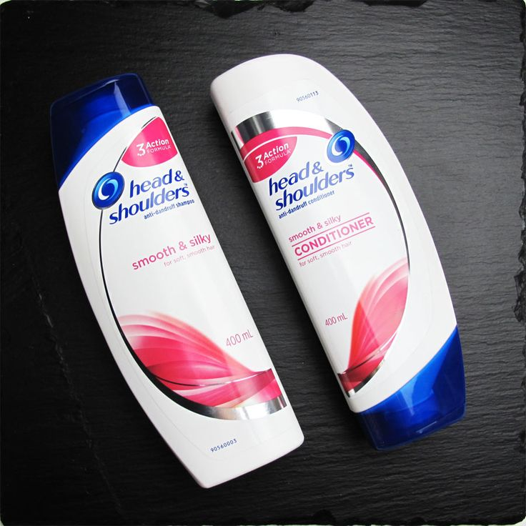 Head & Shoulders Smooth & Silky Shampoo and Conditioner Review. Millie, Tal?