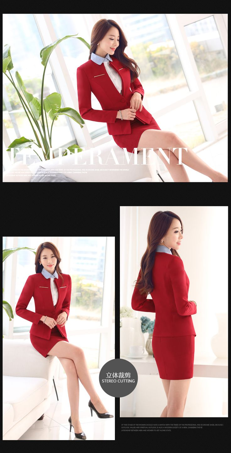 New 2016 Office Ladies Work Wear Suits The above is the hot sale products. The following is the detail of this product.